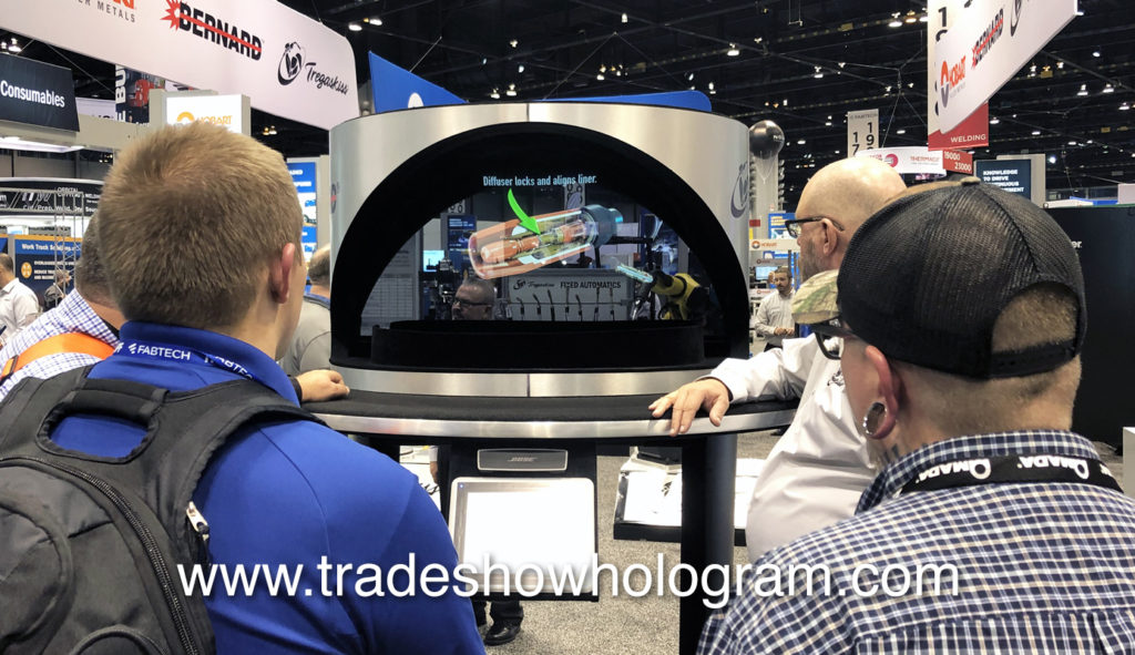 Hologram at FabTech Expo