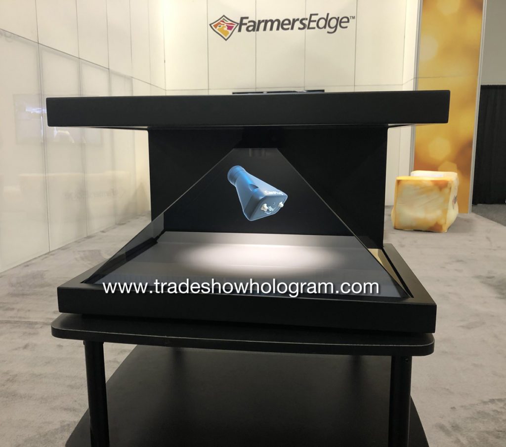Hologram Trade Show Rental