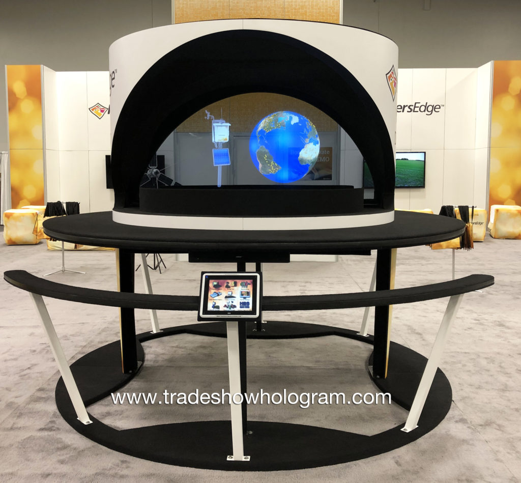 Large Trade Show Hologram Rental