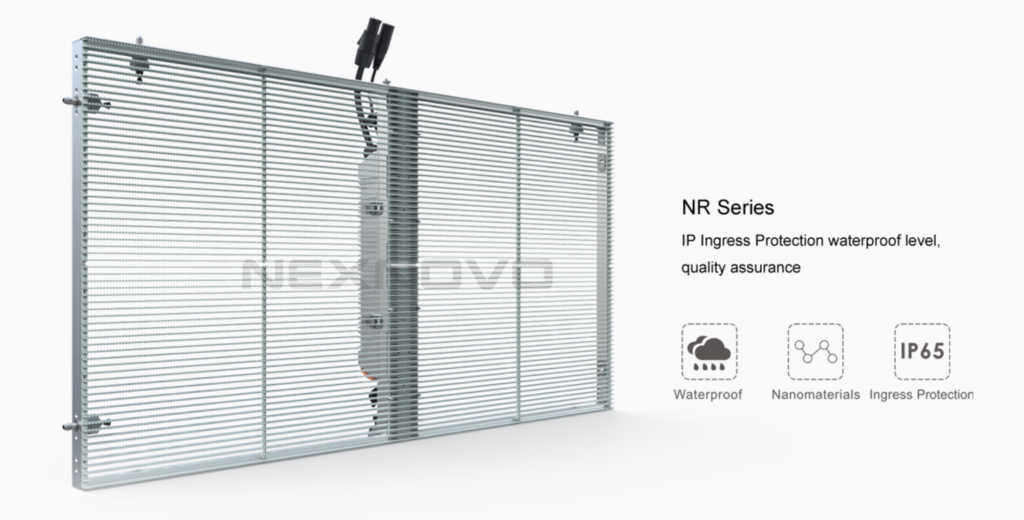 NexNovo Transparent LED wall module