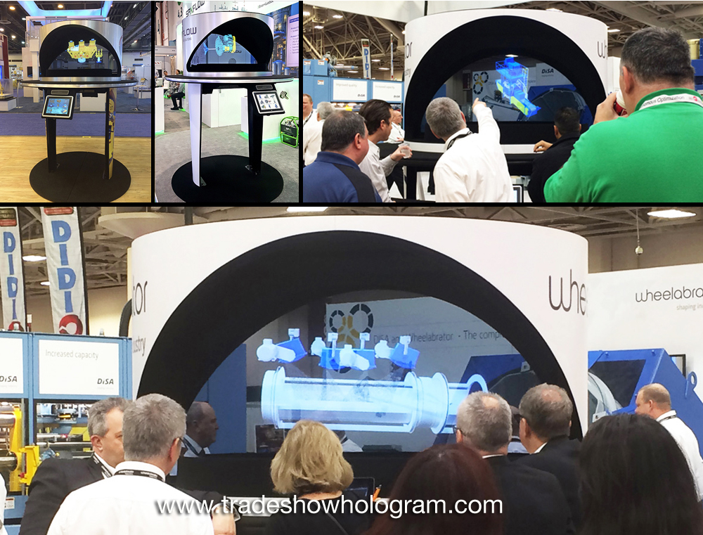 best hologram for trade shows